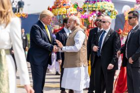 Trade on the agenda as Trump arrives in India