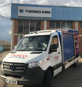 Thermo King unveils new electric delivery solution