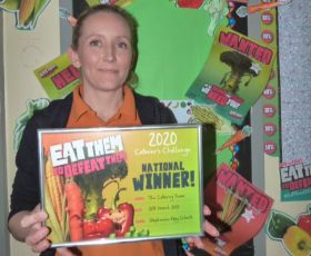 Veg Power names competition winners