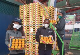 South Africa's informal trade hit