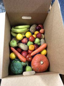 New Zealand families provided fresh produce