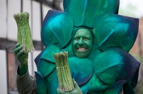 UK asparagus season launch goes online
