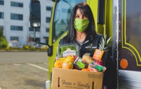 Feeding Our Frontlines donates produce