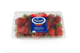 Oppy markets Ocean Spray strawberries