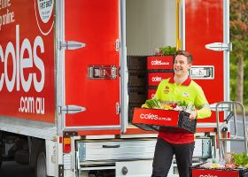 Australian delivery returns with surge