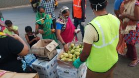 IG International donates produce during Covid-19