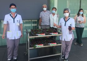 First BFV cherries go to healthcare staff