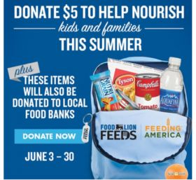 Greenyard USA partners with Food Lion to donate meals