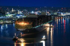 Largest-ever ship calls at Southampton
