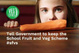 New campaign backs school fruit and veg scheme