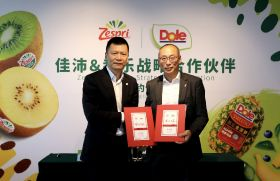 Dole becomes Zespri's partner in China