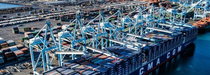Cargo volumes down at Port of LA