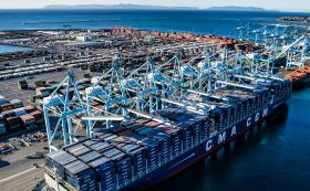 Overall cargo volume up at Port of LA