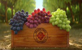 New global ads for California grapes