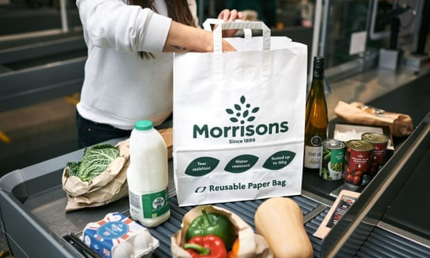 Morrisons considers ditching plastic 'bags for life' for paper alternative