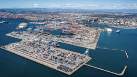 Record activity at Port of Long Beach