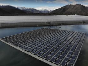 Hortifrut builds Chile's first floating solar plant