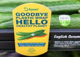 Apeel cucumbers come to Walmart