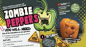 Activity book to boost veg engagement
