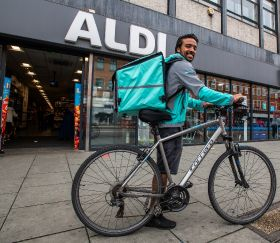 Aldi doubles size of Deliveroo trial