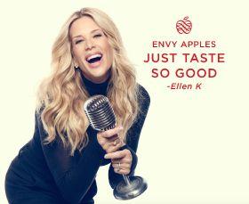 Ellen K boosts Envy apples