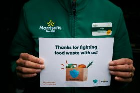 Morrisons saves 100,000 bags of unsold food