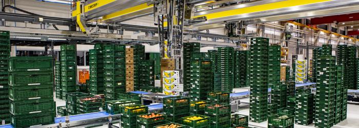 Automation aplenty at Edeka's massive new DC