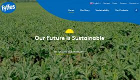 New website for Fyffes