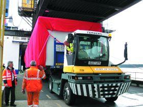 Hauliers switching to unaccompanied ferry freight
