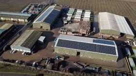 Goatham's installs major solar array