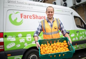 Jaffa teams up with FareShare