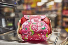 Iceland launches plastic-free Pink Lady packs