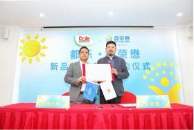 Joy Wing Mau, Dole establish strategic cooperation