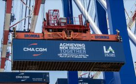 Port of LA celebrates milestone
