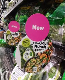 OneHarvest launches new spinach line