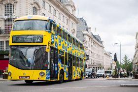 Chiquita banana buses back in London