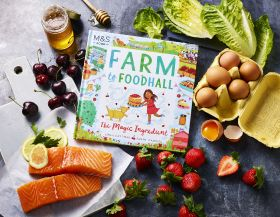M&S launches food and farming fiction for kids