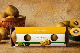 Waitrose trials linerless packaging for Gold Kiwis