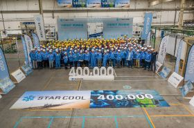 MCI produces 400,000th Star Cool unit