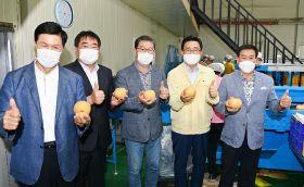 Korea begins pear export season