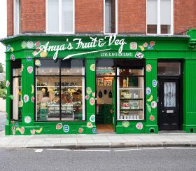 Fashion label opens fruit and veg store