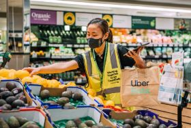 Woolworths partners with Uber