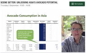 Asia develops taste for avocados