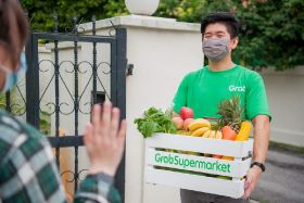 Grab launches online supermarket in the Philippines