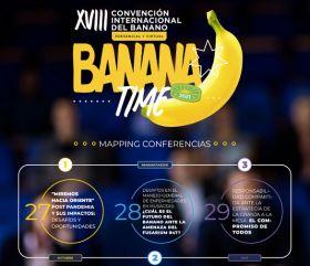 Stage set for XVIII International Banana Convention