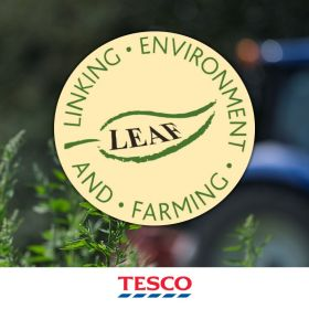All Tesco produce growers to be LEAF certified