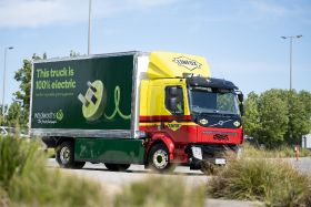 Electric vehicles power Woolworths distribution