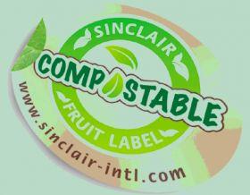Sinclair develops compostable label