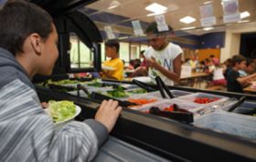 Bayer makes salad bar donation