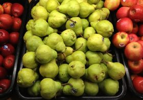 Europe's apple and pear crops down